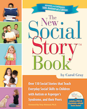 The New Social Story Activity Book and CD by Carol Gray   medium