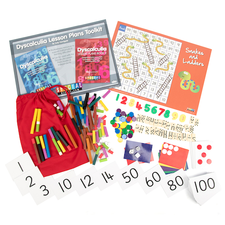 Dyscalculia Lesson Plans Kit  large