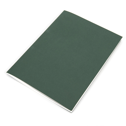 A3 120gsm Green Plain Stapled Sketchbooks  large