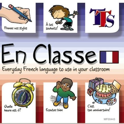 En Classe French Teacher Language Learning CD  large