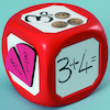 Giant Wipe Clean Magnetic Dice Single  small