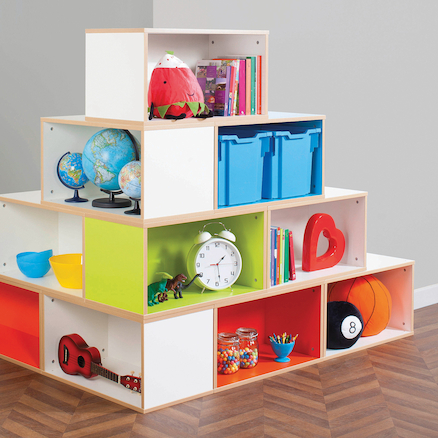 Bubblegum Stacka Stacking Storage Compartments  large