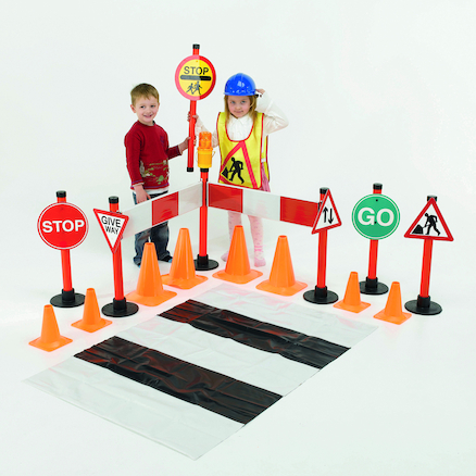 Deluxe Road Safety Set 28pcs  large