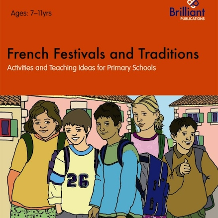 French Festivals and Traditions Book  large