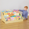 Toddler Book Display Unit with Mirror  small