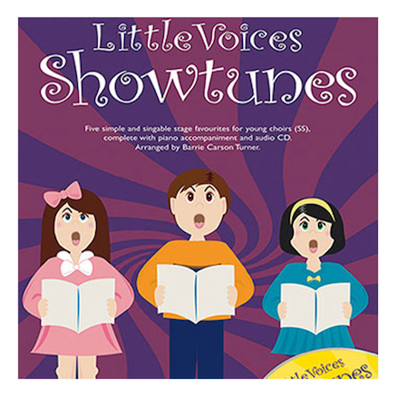 Little Voices Showtunes Book and CD  large