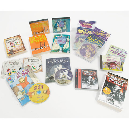 KS2 Books and CDs 13pk  large