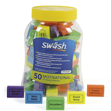 Swäsh Motivational Erasers 50pk  medium