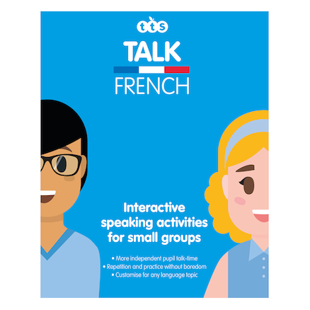 Talking French Box of Activities  large