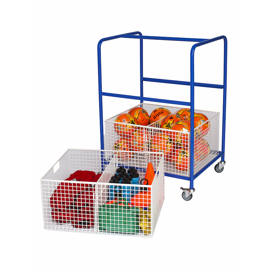 Buy General Wire Basket Equipment Trolley Tts
