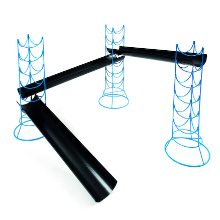 Outdoor Jumbo Guttering Stands 4pk  large