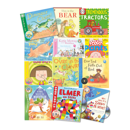 KS1 Fiction Books and CDs 12pk  large