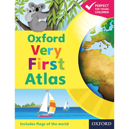 Oxford Very First Atlas  large