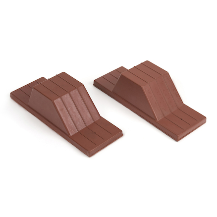 Rubber Starting Blocks Pair  large