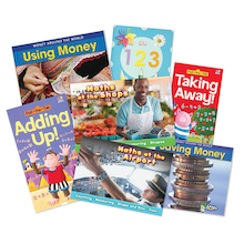 Money and Numbers Book Pack 6pk  medium