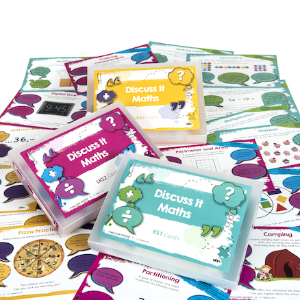 Discuss It Maths Activity Cards  large