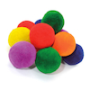 Fleece Fluff Balls 6 colours 7.5cm 12pk  small