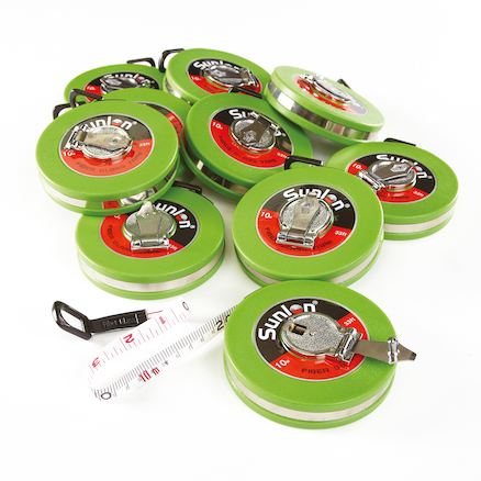 Wind Up 10 Metre Measuring Tape  large