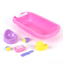 Role Play Doll's Bath and Potty  medium