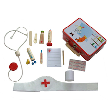 Doctor's Role Play Equipment Case  medium