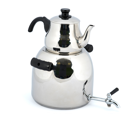 Giant Outdoor Metal Kettle Dispenser  large