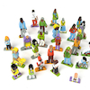 Families and Friends Wooden Characters 25pcs  small