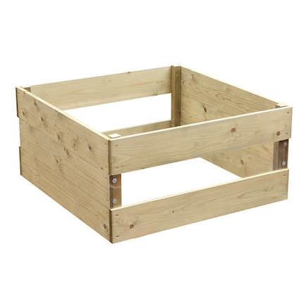 Double Windowed Raised Bed  large