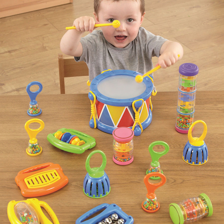 Tiny Hands Toddler Plastic Instrument Set 14pcs  large