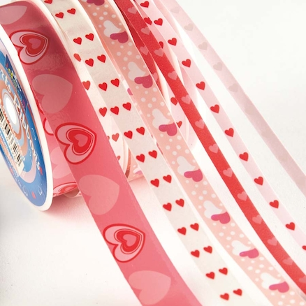 Heart Ribbons Reel Assorted  large