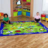 Back to Nature Minibeasts Indoor Rug  small