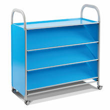Callero Metal Book Storage Trolley  medium