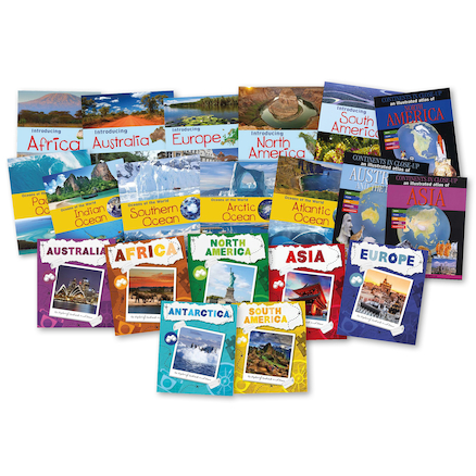 Comparing Continents Books 20pk  large