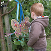 Weaving Dragonflies and Butterflies 4pcs  small