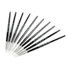 White Nylon Round Paint Brushes  small