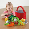 Soft Role Play Basket of Vegetables  small