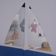 Two Piece Sailing Mirror  medium