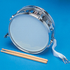 Metal Snare Drum  small