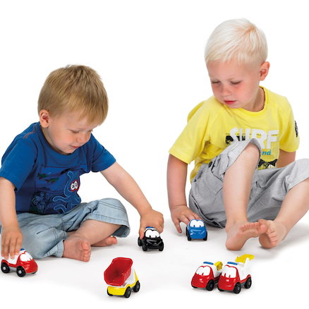 Plastic Chunky Car Set 36pcs  large