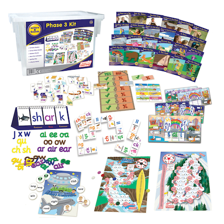 Budget Phonics Kit  Phase 3  large