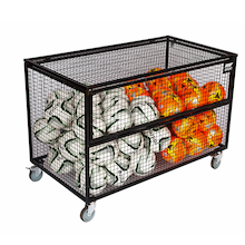 Ball Storage Cabinet With Balls  medium