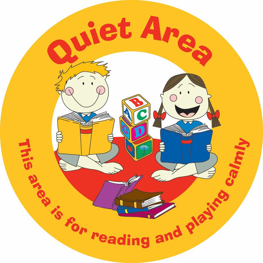 buy quiet area playground sign tts
