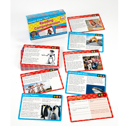 Reading Comprehension Cards  large