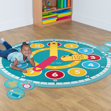 Tell the Time Circle Mat & Accessory Pack  medium