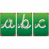 Wooden Blocks Magnetic Cursive Letters 26pcs  small