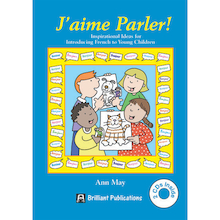 J'Aime Parler French Activity Book and CD  medium