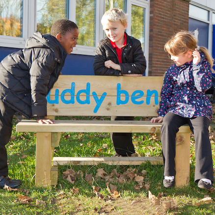 Standard Buddy Bench  large