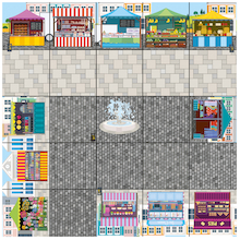 Bee-Bot® Marketplace Mat   medium
