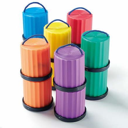 Six Colour Mini Stilt Set 6pk  large