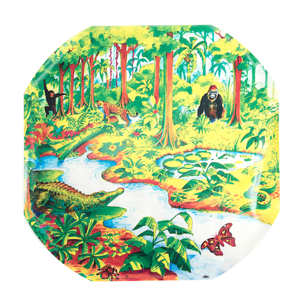 Active World Tuff Tray Jungle Mat  large