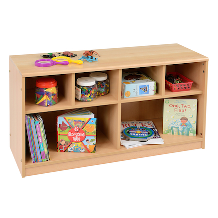 Room Scenes Closed Back Shelf Unit  large